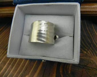 sterling silver spoon ring size 8