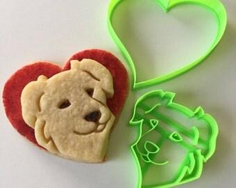 Aussie Dog Love Cookie Cutter Set