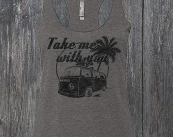 Volkswagen Bay Window Bus Tank Top
