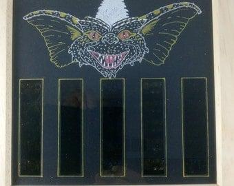 Gremlins Mounted Rare Film Cells LED Lit With Custom Art Work