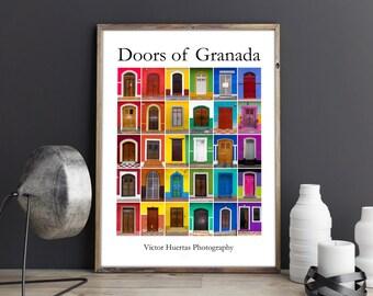 Doors of Granada poster