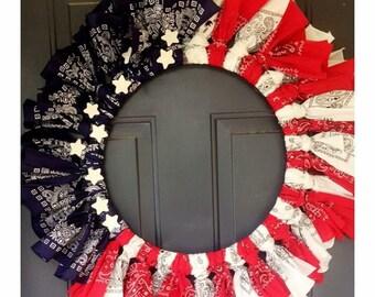 Handmade wreaths.