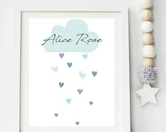 Personalised cloud print