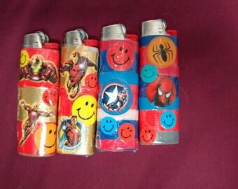 Super hero lighters