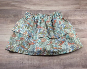 Two Tier Skirt- Baby Skirt- Toddler Skirt- Childrens Skirt- Baby Shower Gift
