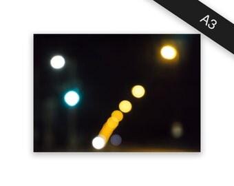 Night - art print/photo print A3