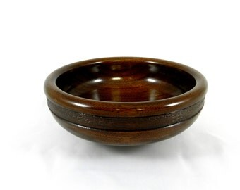 Walnut Wood Bowl, Wood Bowl, Wooden Bowl, Kitchen Bowl