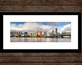 "Portland Skyline Panorama | ""Portland Panorama"" 