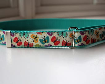 Butterflies - Kids' Adjustable Velcro Belt