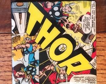Thor Comic Drink Coaster