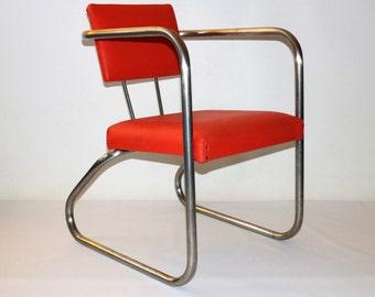 Original 1950's armchair Bauhaus style