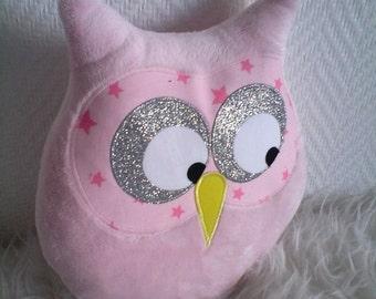 cushion OWL pink doudou powder