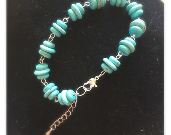 Tuquoise Beaded Bracelet