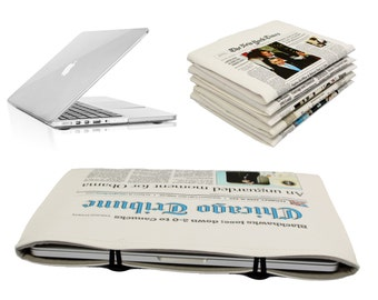 "13"" Macbook Air Case Chicago Tribune Newspaper Case Sleeve Macbook Air 13 sleeve Macbook Air 13 inch case 13 Air Bag  Macbook Air 13 cover"