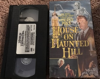 The House On Haunted Hill, VHS