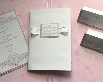 Wedding Invitation Set 005