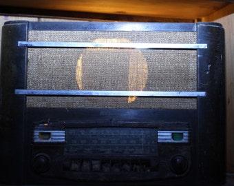 RCA Victor Antique Radio Statement Making Accent Light