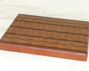 Cutting board Walnut/cherry/ end-grain