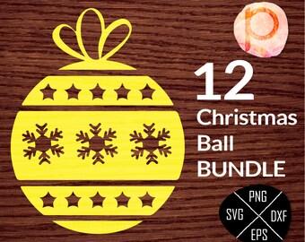 Christmas Ball ornaments SVG bundle*Christmas Svg*Christmas Ball svg*Christmas Party*clipart,eps,dxf,png,jpg*Cutting Files*Cricut*Silhouette