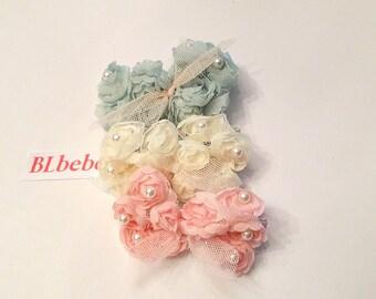 Baby Girl Lace Flower Hair Bow,Hair Clip