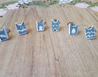 Warrior Cats - Clan Symbol Pins