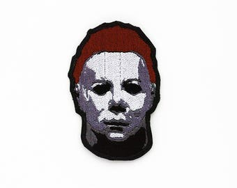 Michael Myers Patch, Michael Myers Mask, Horror Movie Patch, Modern Monster, Slasher Flick, Cult Movie Patch, Halloween Patch