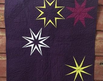 Twinkle Twinkle Mini Quilt Pattern (PDF Download Version) Paper Piecing