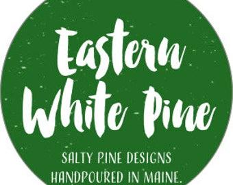 Eastern White Pine Soy Candle (Amalie Candle Co.)