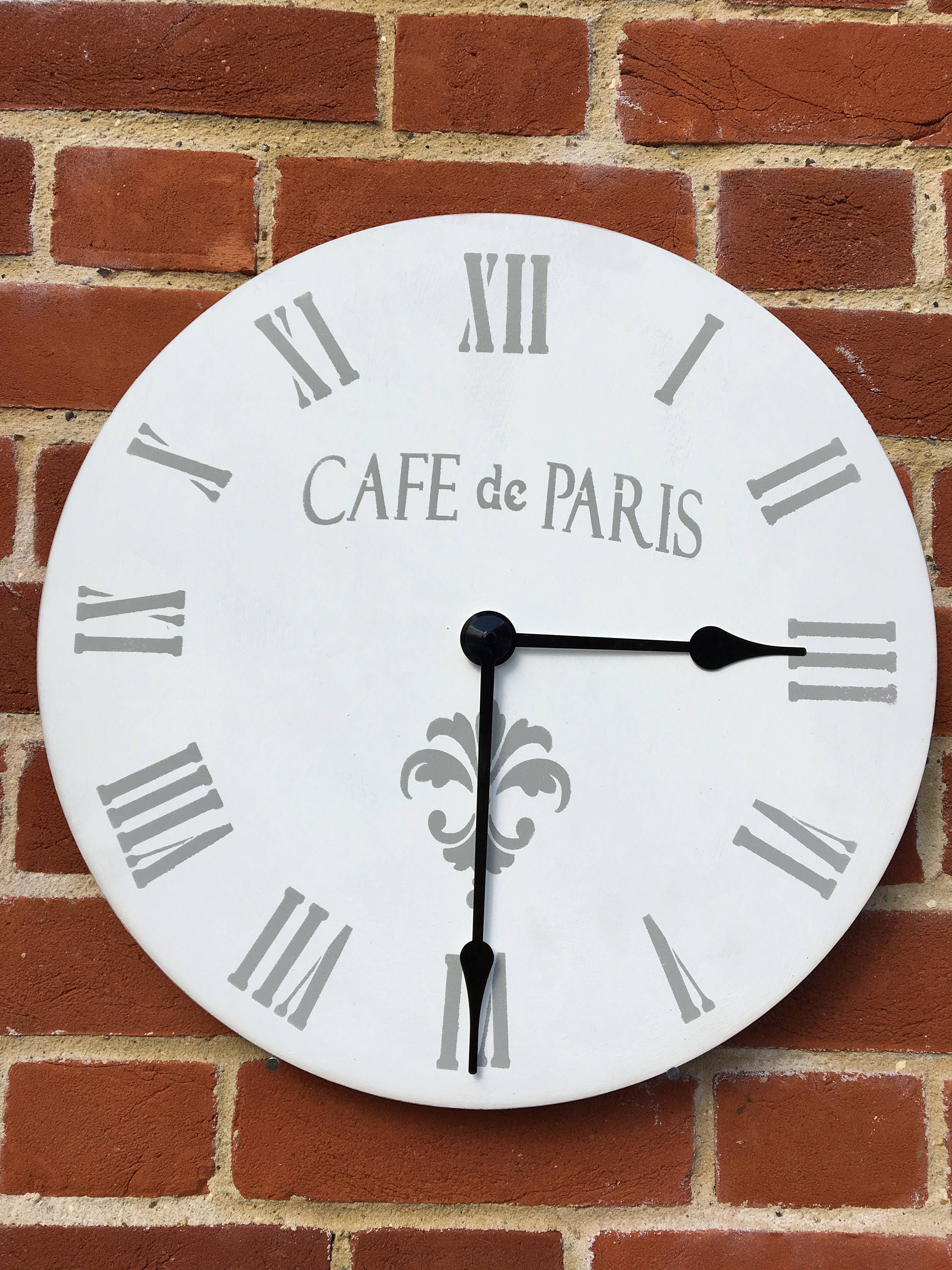 Make your own clock personalised clock wooden clock wall details make your own clock amipublicfo Image collections