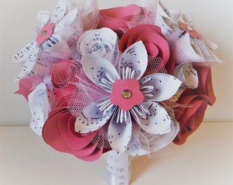 Musicality Paper Bouquet/Posy