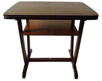 Table, coffee table, Artdeco, CA. 1920, restored