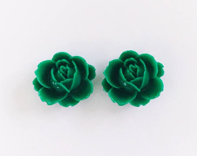 The 'Paige' Flower Earring Studs