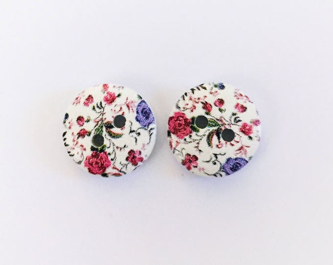 The 'Nora' Button Earring Studs