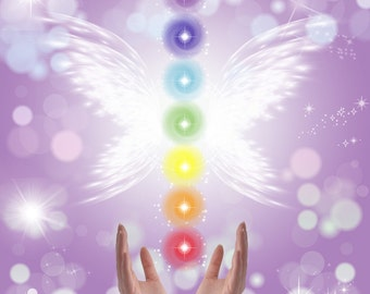 DISTANT REIKI (full chakra alignment, cleansing, opening)