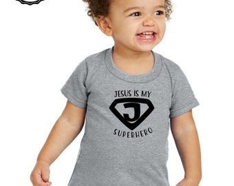 Jesus is my superhero Child Tshirt
