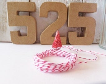 Red & White Bakers Twine ~ 4th of July DIY Projects ~ 12 Yards ~ Gift Wrap ~ Embellishments ~ Memorial Day