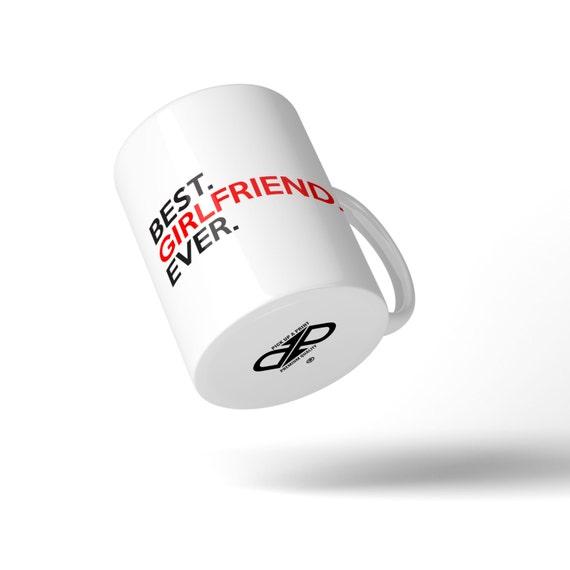 Best Girlfriend Ever Mug - Great Gift Idea Stocking Filler