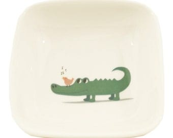 little crocodile dish