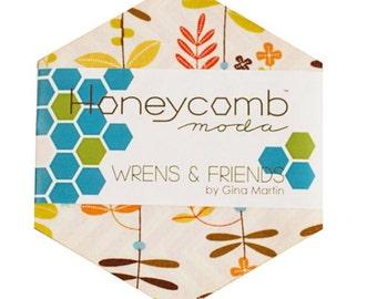 Honeycomb Moda Wrens & Friends by Gina Martin #10000HC
