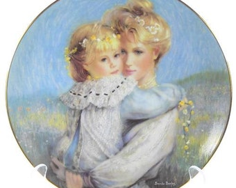 Precious Embrace Mother's Day Plate by Brenda Burke