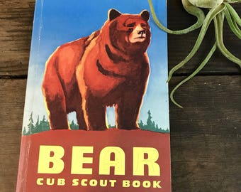 Cub Scout Bear Book 1964 - Vintage Boy Scout Guide