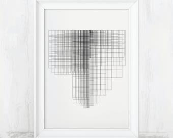 Industrial Print, Industrial Art, Industrial Decor, Contemporary Decor, Contemporary print, Contemporary Art, Modern Abstract Art, Office