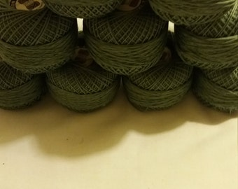 Cotton knitting/crochet thread.