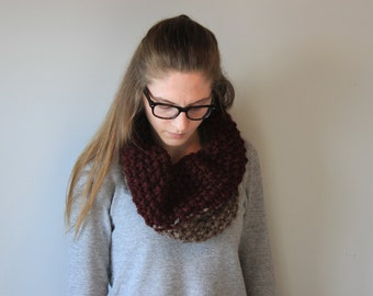 Babush(ka) Cowl- Colour Block
