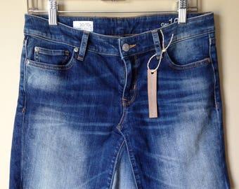Upcycled Denim - Jean Skirt - Size 10
