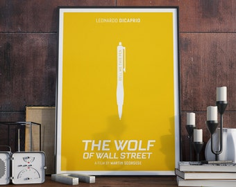 Sell Me This Pen - Poster, Jordan Belfort, Wolf of Wall Street, Quote