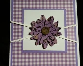 In Bloom blank greeting card