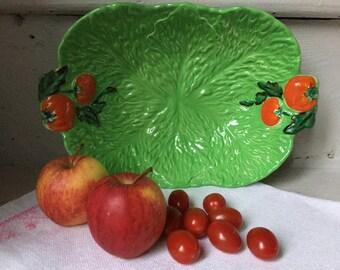 Serving dish fruit bowl Vintage Beswickware tomato design