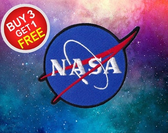 Nasa Patches Space Patches Iron On Patch Sew On Patch Jacket Patches
