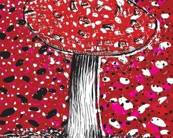 Amanita Muscaria - Fine Art Print